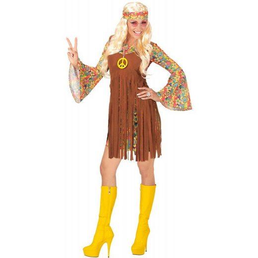 Fetziges Hippie Girl Kostüm für Damen