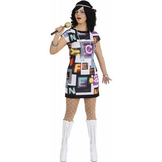 80er Jahre Rock Kleid Damenkostüm