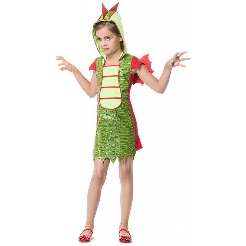 Drachen Kostüm für Mädchen