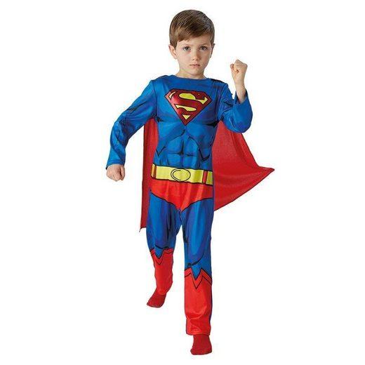 Superman Comic Kostüm für Kinder