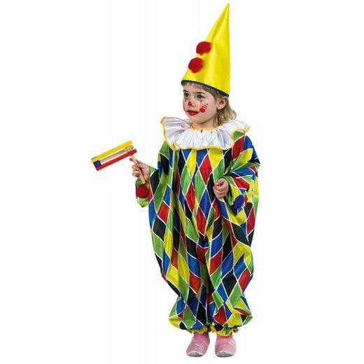 Kleiner Karnevals-Clown Kinderkostüm