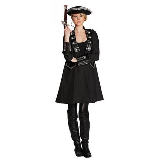 Piraten Lady Einohr Damenkostüm