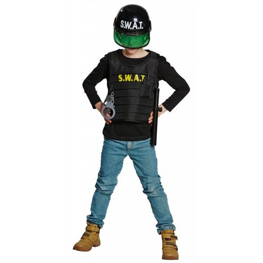 S.W.A.T. Weste Polizeikostüm für Kinder