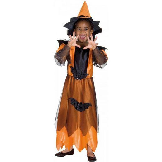 Midnight Witch orange - Hexenkostüm