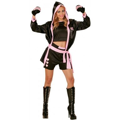 Sexy Boxer Girl Boxerin Kostüm
