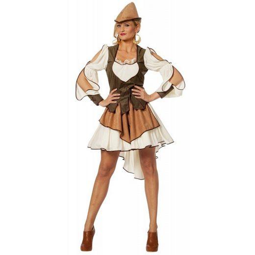 Bogenschützin des Waldes Damenkostüm