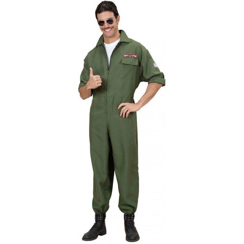 Kampfjet Pilot Kostüm