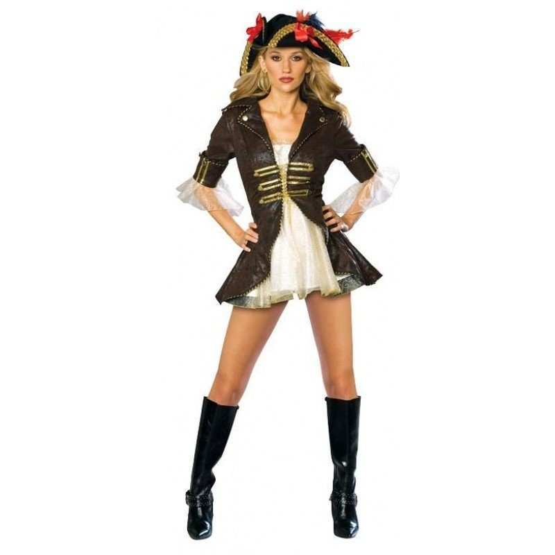 Damen Für Piratenlady Kostüm Sexy Sexy Piratenlady IS8qXgwq