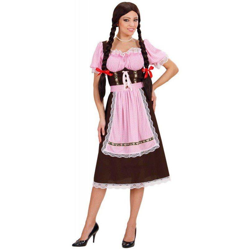 3975a3ace4c607 Vicky Dirndl Trachtenkleid braun-rosa kaufen | OTTO