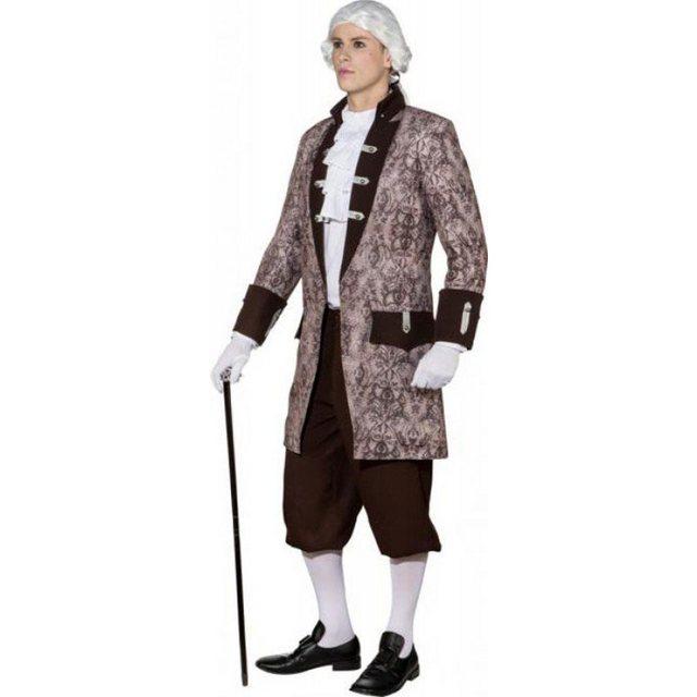 - Barock Ornament Jacke für Herren