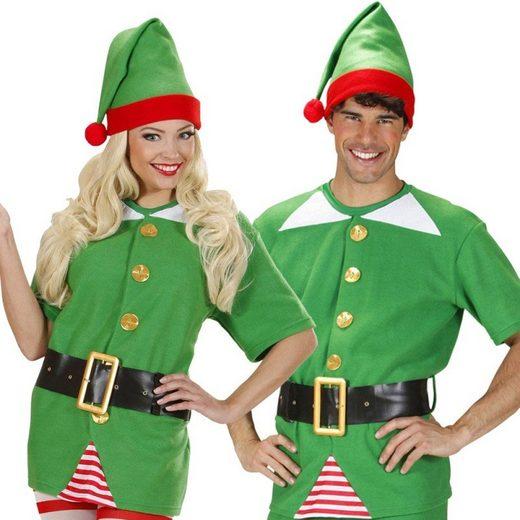 Elf Weihnachtsmann Helfer Kostüm unisex