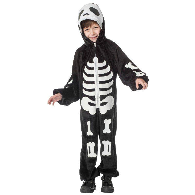 fad9b1b721248 Skelett Overall Kinderkostüm Schwarz online kaufen | OTTO