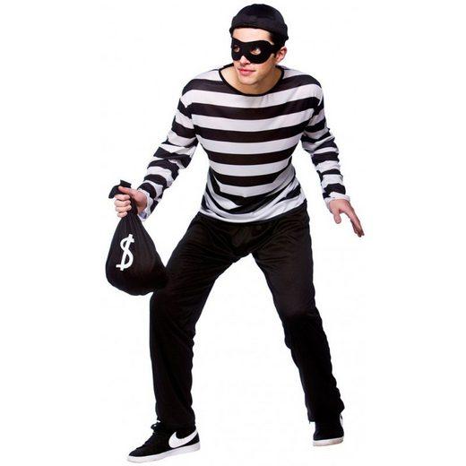 Bankräuber Einbrecher Dieb Kostüm