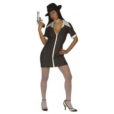 Mafia Gangsterbraut Kostüm für Damen
