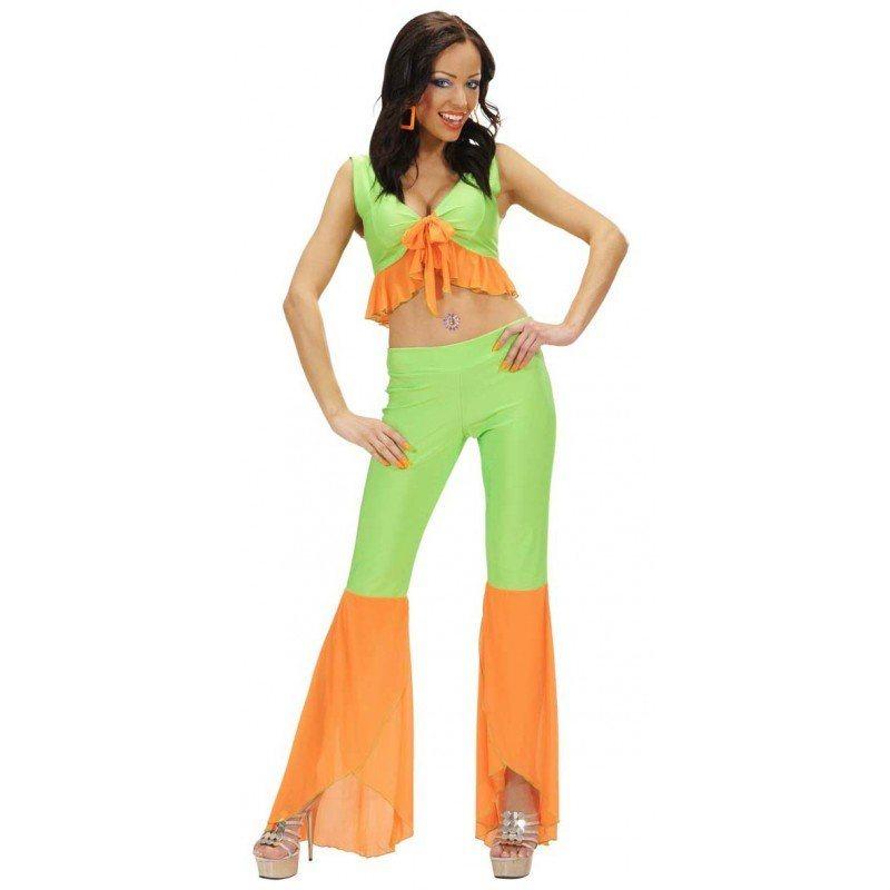 70er jahre samba queen in neon gr n orange kaufen otto. Black Bedroom Furniture Sets. Home Design Ideas