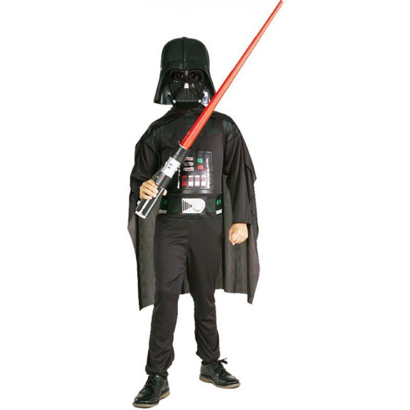 Star Wars Kostüm Darth Vader Deluxe-Set für Kinder