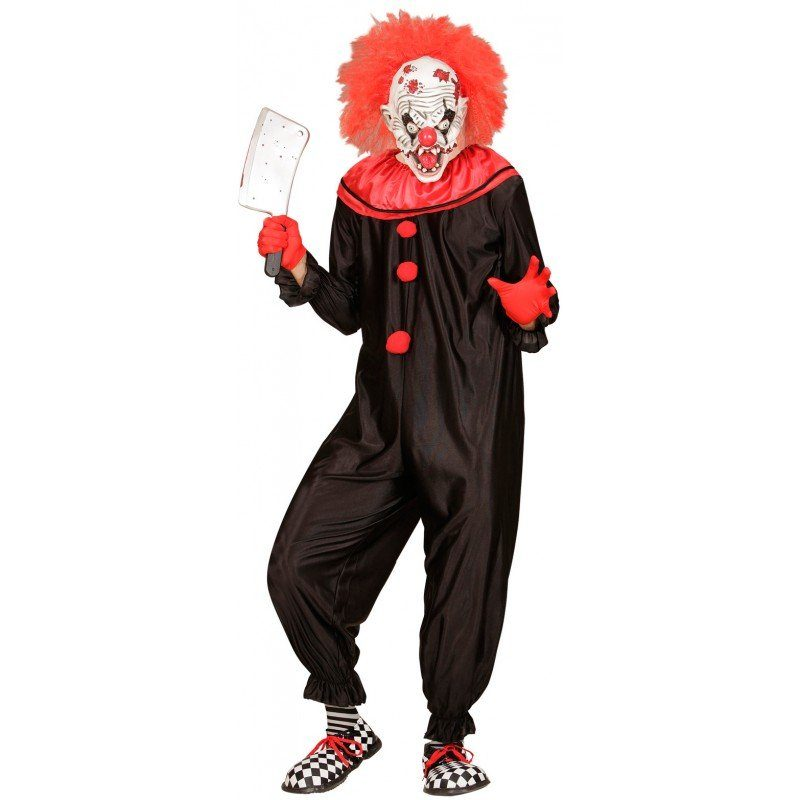 Unisex Killer Clown Overall bunt,  mehrfarbig | 08003558016235