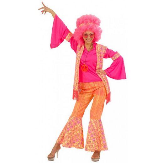 Hippie Flower Power Kostüm für Damen