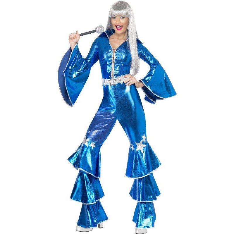 Dancing Queen Kostum Blau Mit Sternen Versehen Online Kaufen Otto
