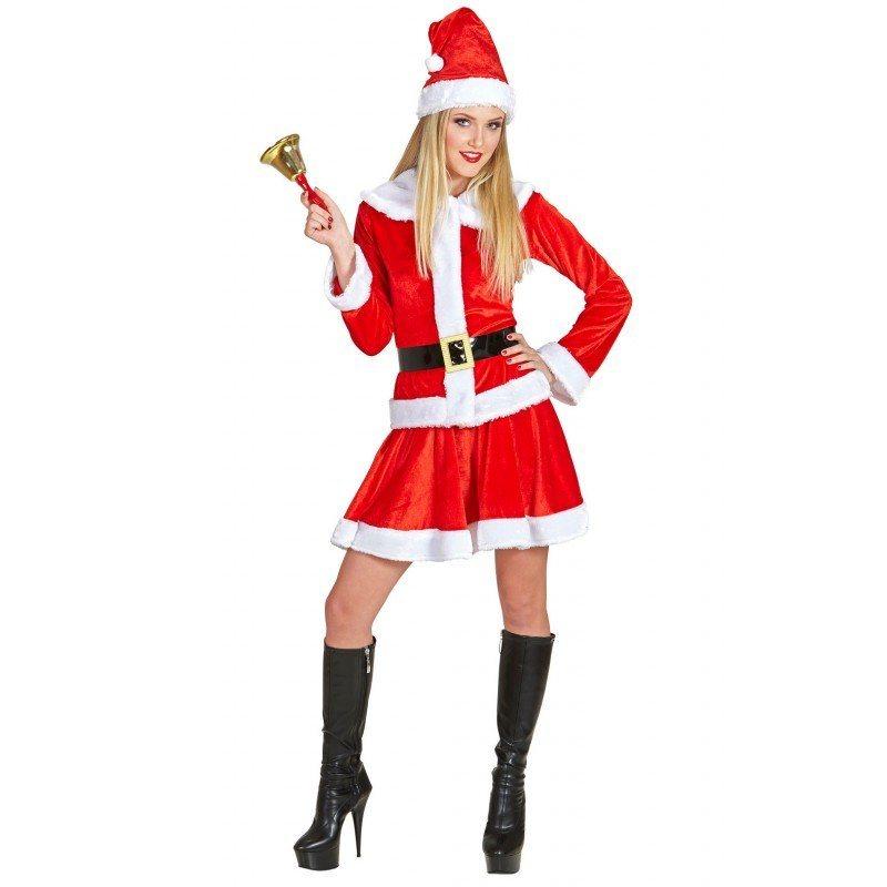 - Lady Santa Kostüm Classic