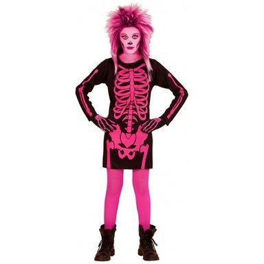 Pink Skeleton Mädchenkostüm