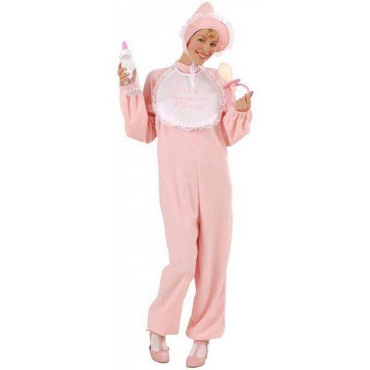 Baby Kostüm in pink für Damen