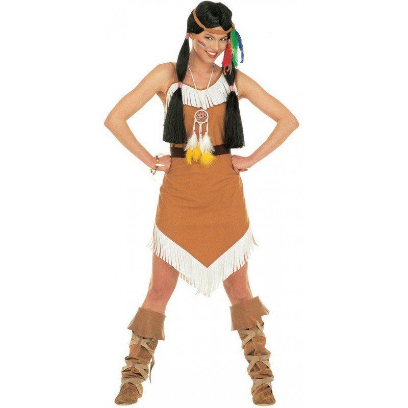 Indianer Kostüm Pocahontas für Damen