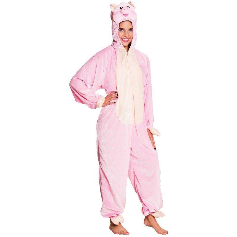 Schweine Plüsch Kostüm für Teenager - 165 cm