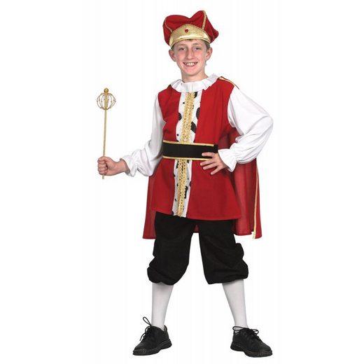 Mittelalterlicher König Kinderkostüm