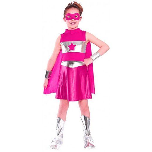 Sweet Superhero Kinderkostüm pink