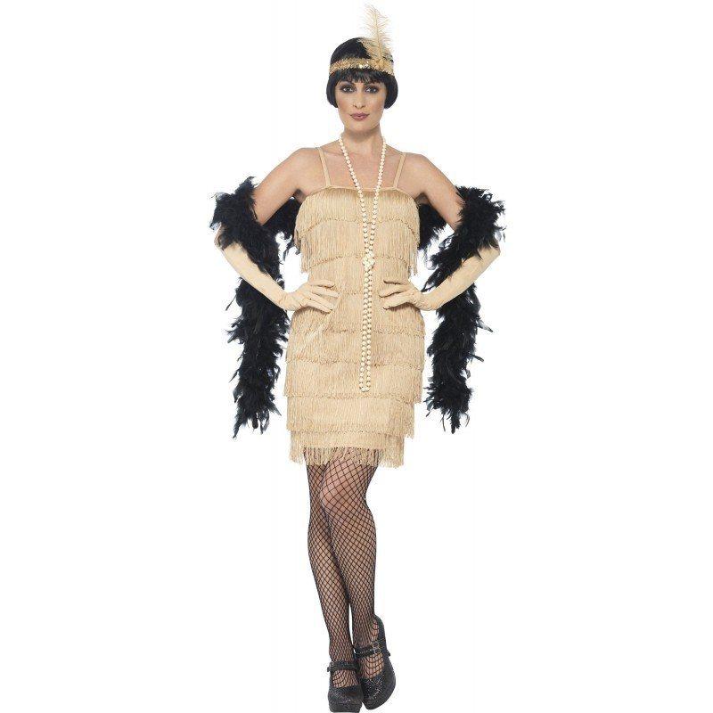 20er Jahre Marta Flapper Kostum Gold Online Kaufen Otto