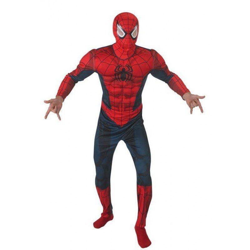 ultimate spiderman kost m f r herren deluxe kaufen otto. Black Bedroom Furniture Sets. Home Design Ideas