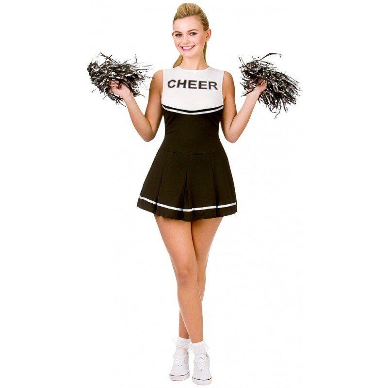 Rachel High School Cheerleader Kostüm schwarz | OTTO