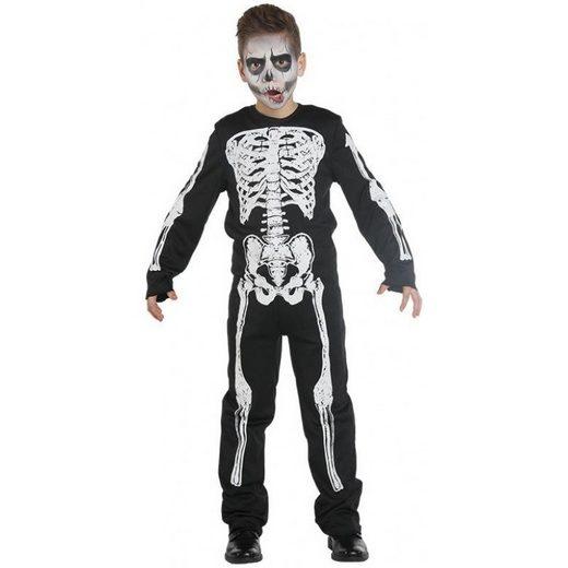 Cooler Skelett Boy Jack Kinderkostüm