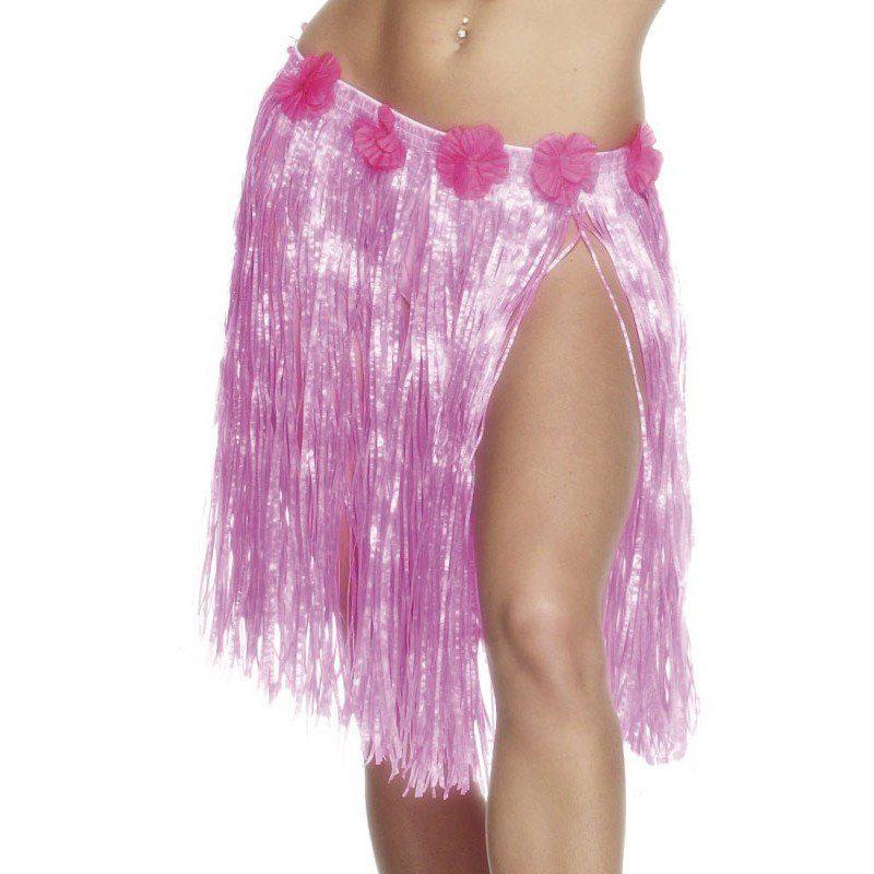 Hawaiirock Melika neon-pink 46cm (Größe)