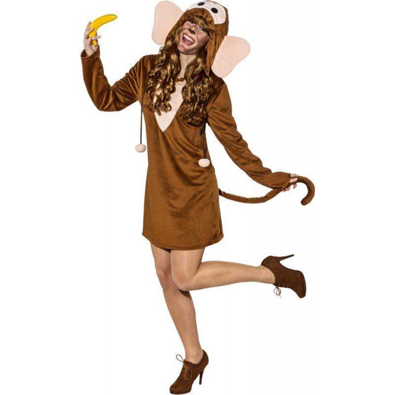 Lustiges Affen Kleid für Damen