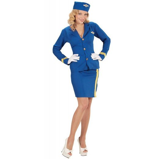 Lindsey Sky Stewardess Kostüm für Damen