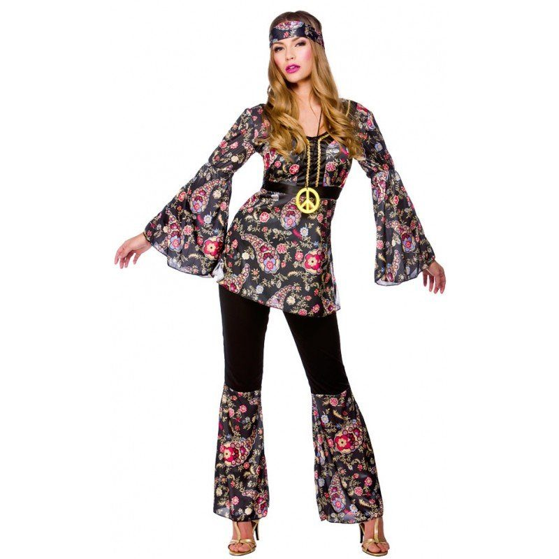 60's Tammy Hippiebraut Kostüm