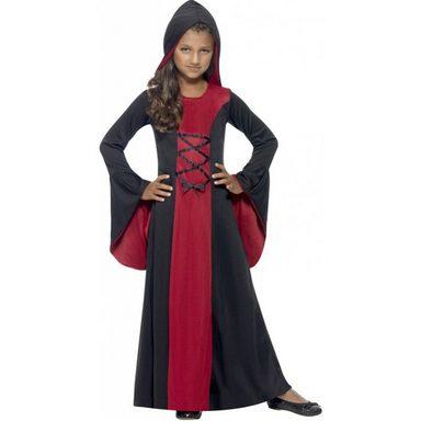 Elegante Vampir Lady Kostüm für Mädchen