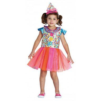 Clowngirl Clown Kleid für Mädchen