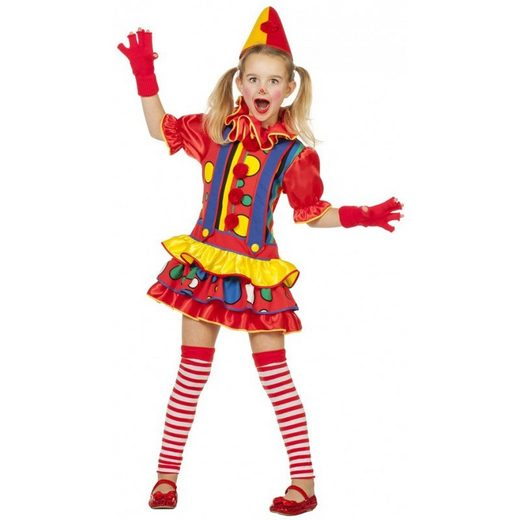 Pippa Clown Girlie Kinderkostüm