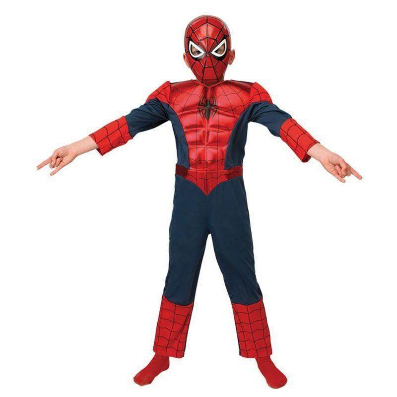 Ultimate Spiderman Metallic Kinderkostüm