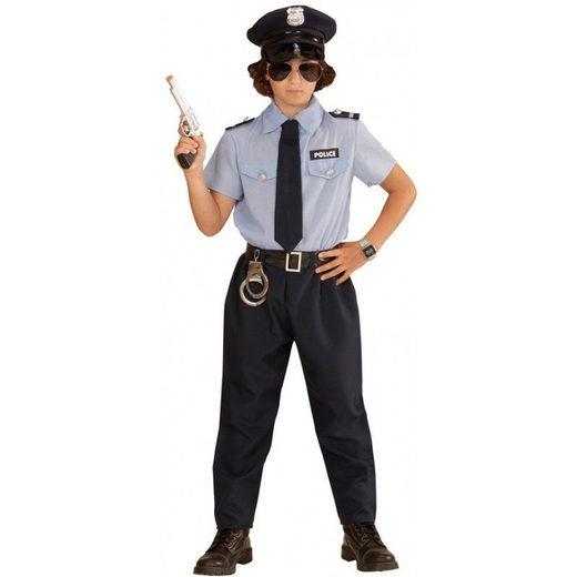 Police Boy Streifenpolizist Kinderkostüm