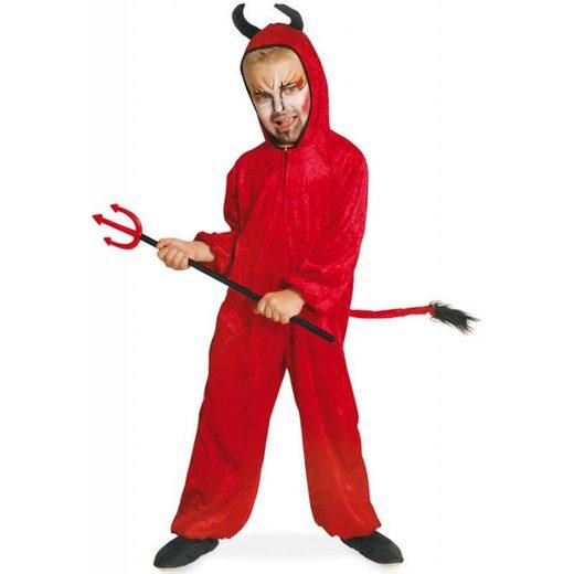 Little Red Devil Overall Kinderkostüm