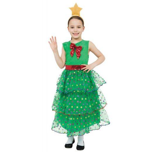 Weihnachtsbaum Kleid Kinderkostüm