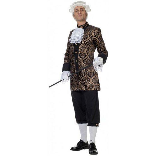 Adliger Graf Carl Barock Kostüm