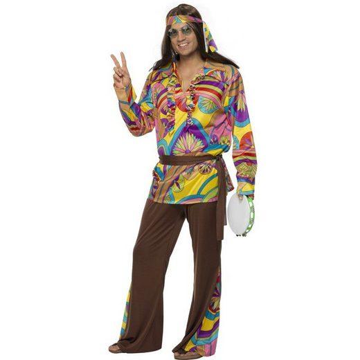 70er Jahre Woodstock Hippie Kostüm