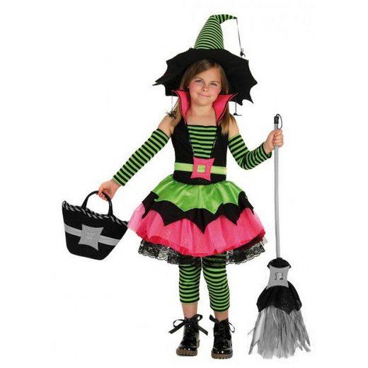 Zauberhafte Halloween Hexe Deluxe Kinderkostüm