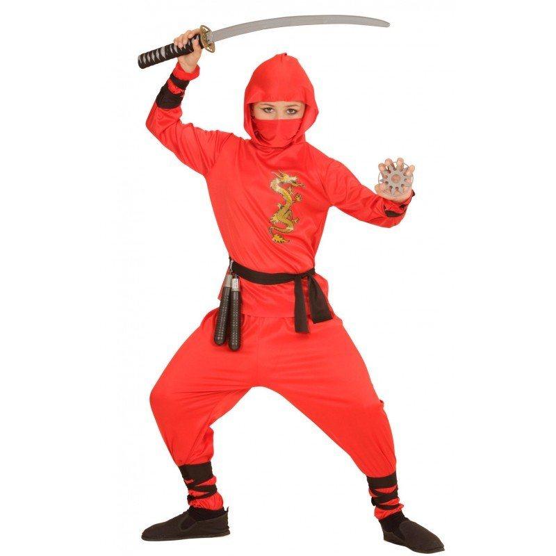 red ninja fighter kost m f r kinder online kaufen otto. Black Bedroom Furniture Sets. Home Design Ideas