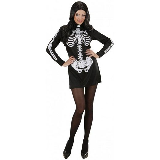 Sexy Skeleton Girl Kostüm